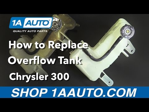 How to Replace Overflow Bottle 06-10 Chrysler 300