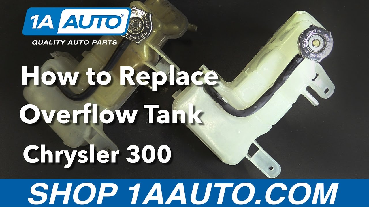 medium resolution of how to replace install overflow bottle with cap 2006 chrysler 300 buy quality parts from 1aauto com