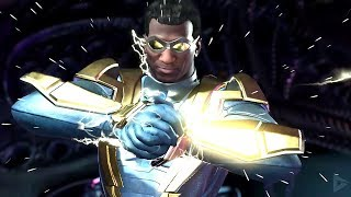 INJUSTICE 2: ALL BLACK LIGHTNING Intros (Dialogue & Character Banter) 1080p HD