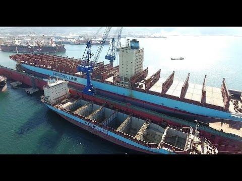 New Besiktas floating dock: From arrival in two piece to operation