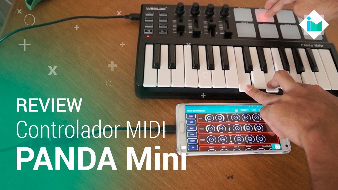 Panda Mini (Interfaz MIDI para PC y Android) - Review en español