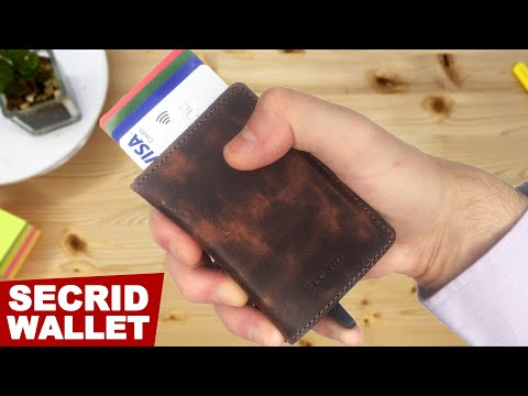 SECRID Slim Wallet Review And Unboxing | Best Wallets For Men