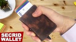 SECRID Slim Wallet Review, Unboxing | RFID Secrid Wallet !