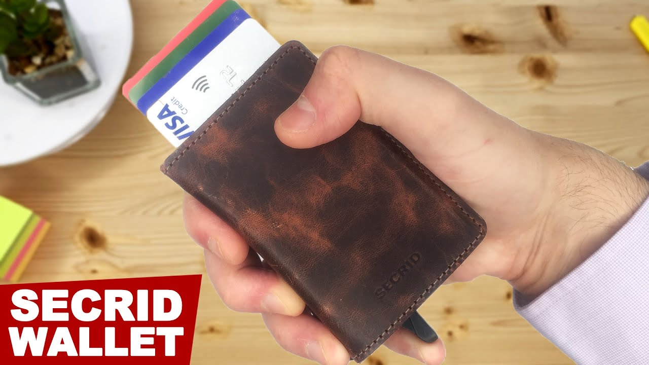 SECRID Slim Wallet Full Review. Automatic Card Holder