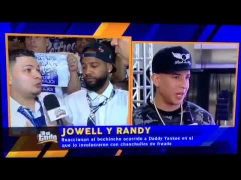 La cara que puso Randy cuando Jowell defiende a Daddy Yankee