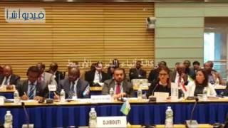 د سحر نصر :وزيرة التعاون الدولي تلقى كلمة مصر فى اجتماع المحافظين العرب بالبنك الدولى