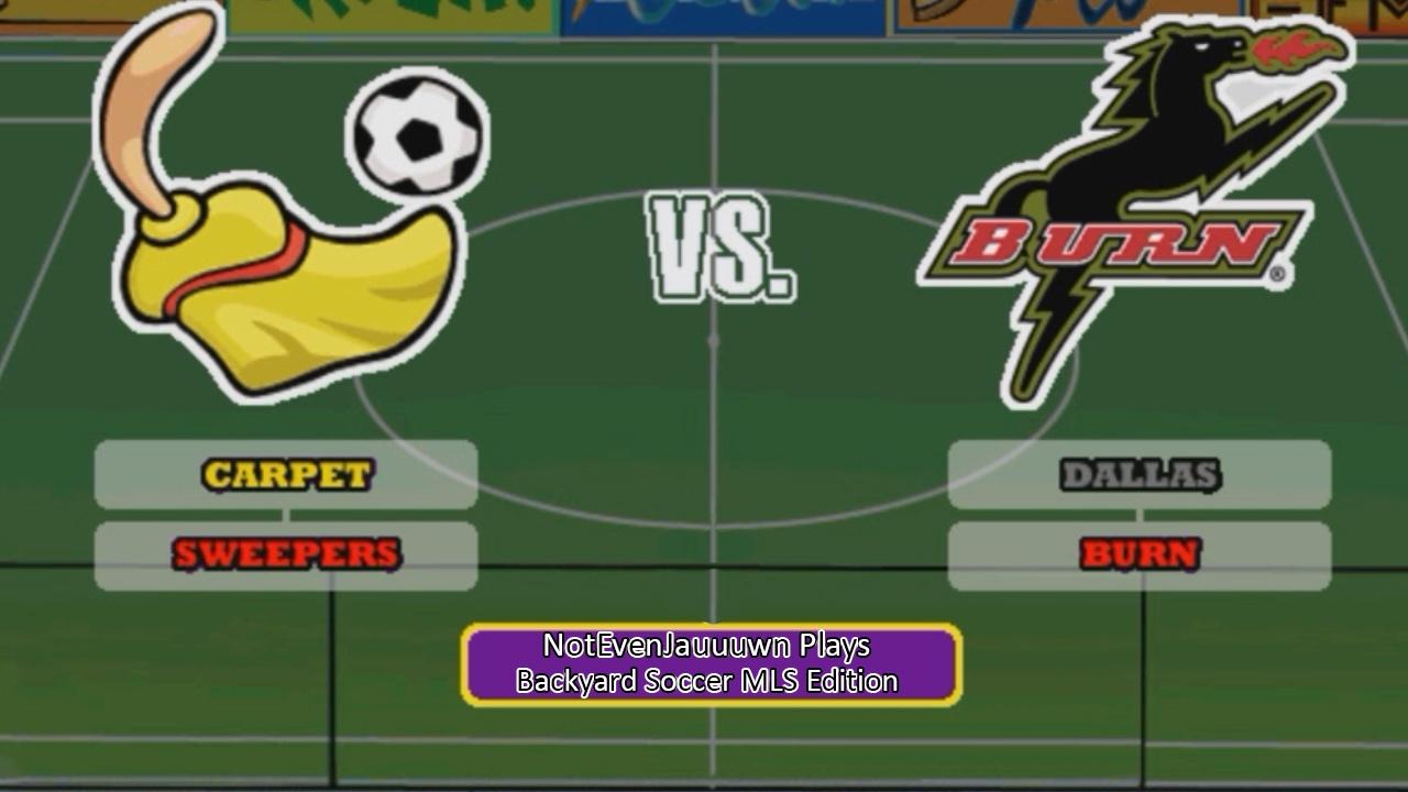Indoor Tournament Game 1 of Backyard Soccer MLS Edition ...