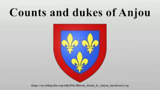 Counts and dukes of Anjou