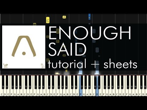 Aaliyah - Enough Said feat. Drake - Piano Tutorial - How to Play + Sheets