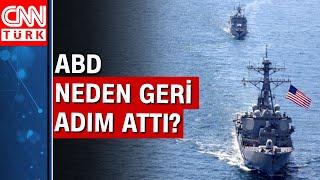 ABD savaş gemilerini Karadeniz'e göndermekten vazgeçti! Neden?