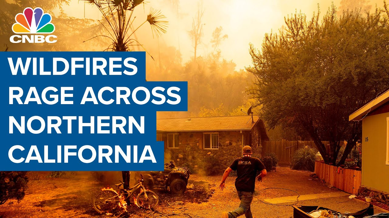 Thousands evacuate as fires rage in Santa Cruz, San Mateo ...
