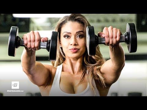 Sculpted Shoulders & Toned Triceps Workout | Lais DeLeon