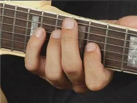 Play C Dim Chord On The Middle Bottom Guitar Strings Root Position
