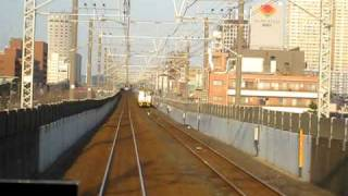 蘇我行の京葉線から撮影しました。