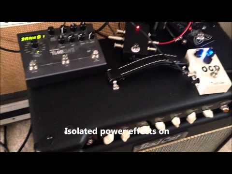 daisy chain and one spot vs isolated power supply