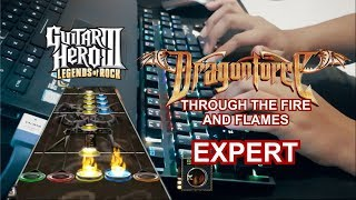 Guitar hero keyboard