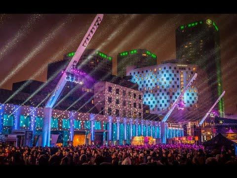 Montréal en lumière 2015  Place des Arts