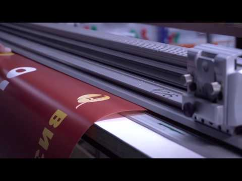 Печать постеров для тонких световых панелей