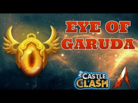 Castle Clash Eye Of Garuda Artifact Review!