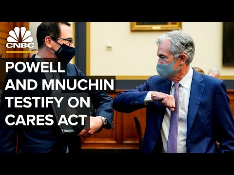 WATCH LIVE: Jerome Powell and Steven Mnuchin testify on CARES Act — 9/24/2020