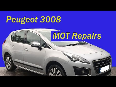 Peugeot 3008 – MOT Repairs – How to Replace Wishbone, Ball Joint and Brake Pads