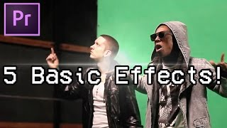 Adobe Premiere Pro: 5 Best Essential Music Video Effects! [No Plugins]