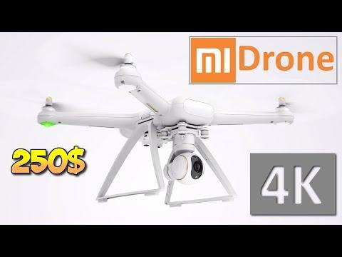 КУПИЛ XIAOMI MI DRONE 4K FPV ЗА 14500 руб. (250$). ОБЗОР, ПОЛЕТ. GEARBEST