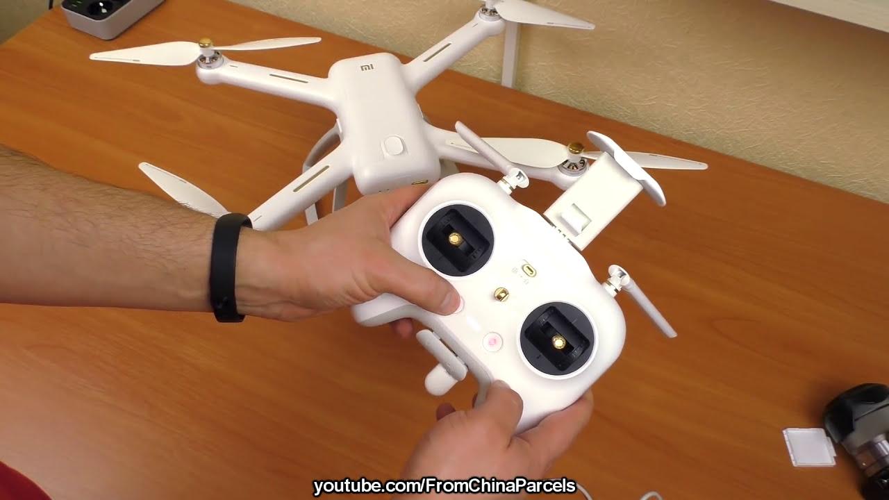 КУПИЛ XIAOMI MI DRONE 4K FPV ЗА 14500 руб. (250$). ОБЗОР, ПОЛЕТ. GEARBEST фото