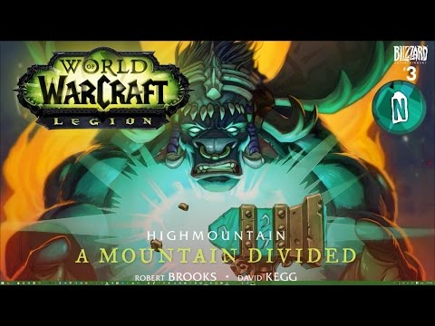 World of Warcraft Legion Animated Comic | Highmountain A Mountain Divided #3