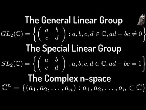 The General Linear Group, The Special Linear Group, The Group C^n With Componentwise Multiplication