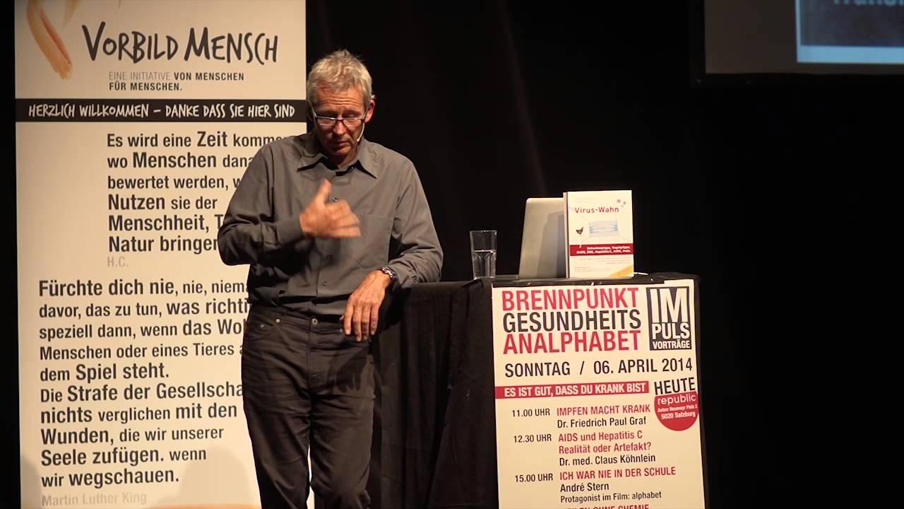 Aids Hepatitis Dr  Claus Coehlein Brennpunkt 2014 Salzburg