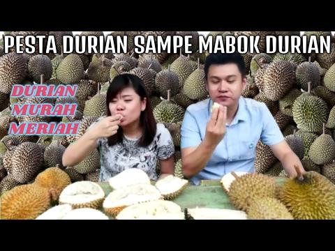 makan banyak durian sampe mabok durian