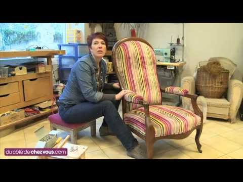 restaurer un fauteuil voltaire youtube. Black Bedroom Furniture Sets. Home Design Ideas