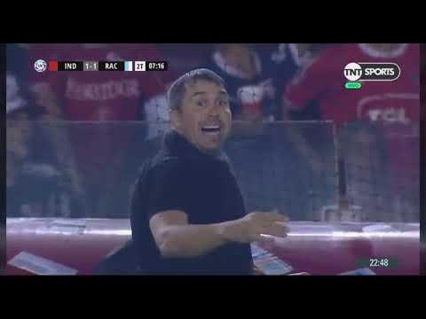 Independiente 1 - 3 Racing Club / Súper Liga, 23/2/2019