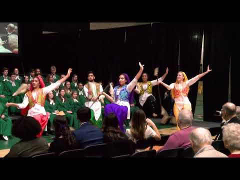 Charter Day 2020: Griffin Bhangra performs