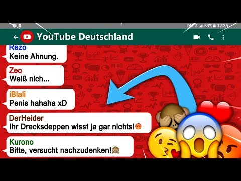 YouTuber in einer WhatsApp Gruppe - Lets Sketch