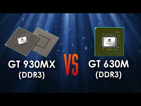 GT 930MX 2GB vs GT 630M 2GB in 5 Games