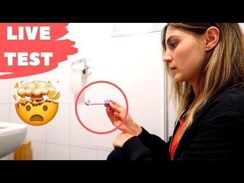 SCHWANGERSCHAFTSTEST LIVE TEST 😱| Daily VLOG TBATB