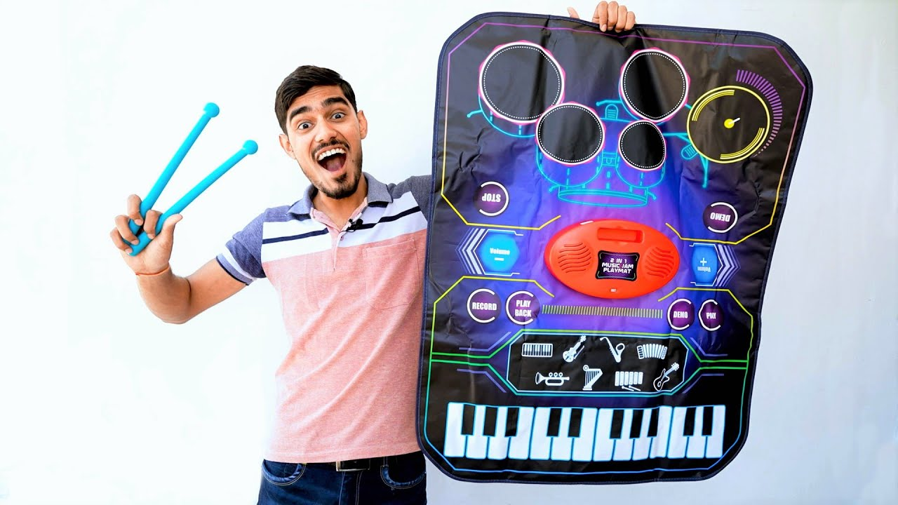 Unboxing Foldable Playmat- Musical Instrument | Never Seen Before