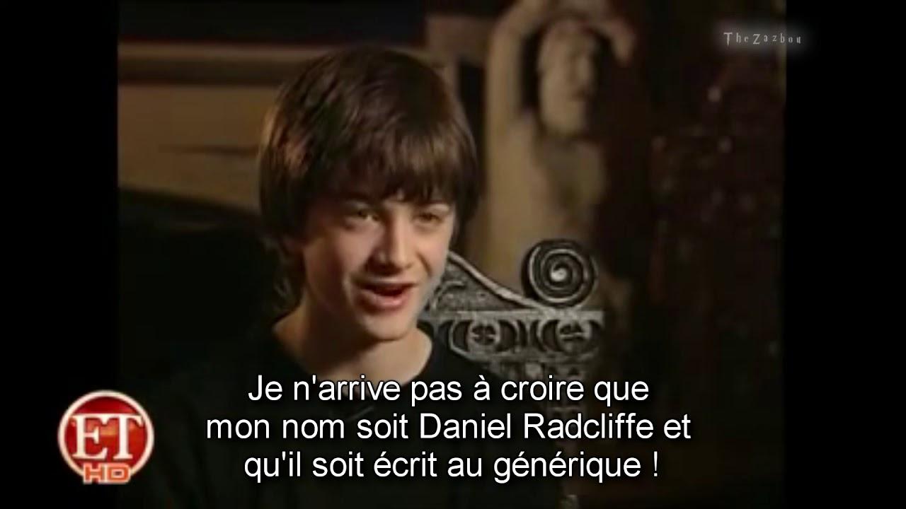 Download [VOSTFR] Interview de Daniel Radcliffe pour Harry Potter en 2001