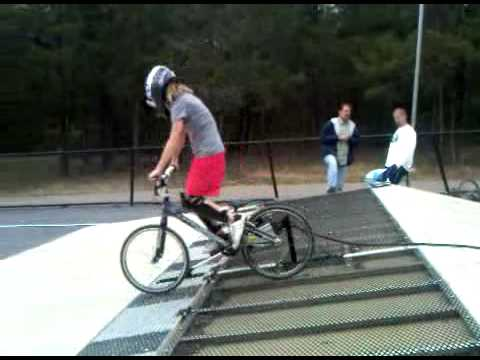 Camille Spencer Music City BMX Gate Practice 1