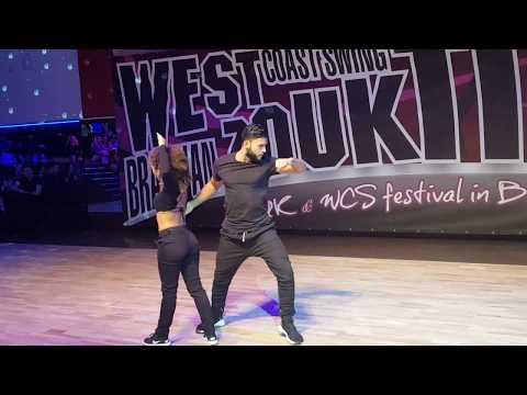 Charles and Aline Brazilian Zouk Dance Performance at Bro Cech Republic