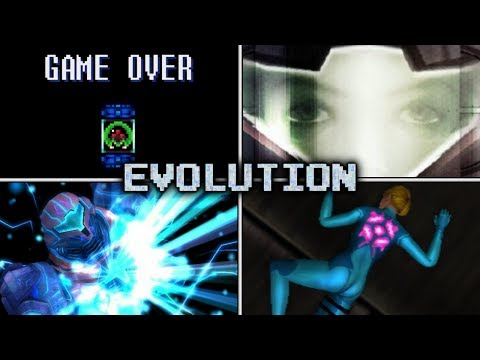 Evolution of Death Animations & Game Overs in Metroid (1986 - 2017)