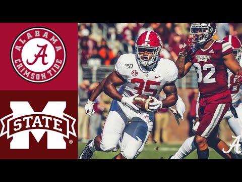 #5 Alabama Vs Mississippi State Highlights   NCAAF Week 12   College Football Highlights