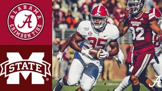 #5 Alabama vs Mississippi State Highlights | NCAAF Week 12 | College Football Highlights