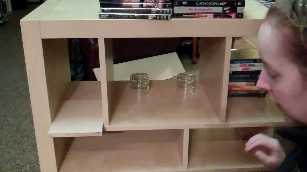 Ikea Expedit Cut In Half How To Expedit Hack