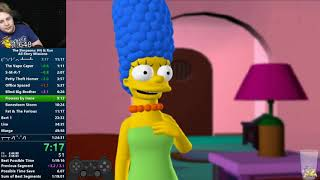 The Simpsons Hit & Run All Story Missions Speedrun in 1:23:37 [World Record]