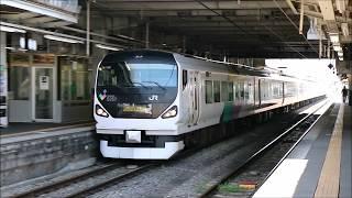 あずさ3号 南小谷行き 松本駅入線→発車