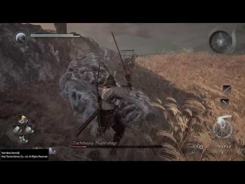 Nioh Beta Easier Way to Fight Tachibana Muneshige Invitation from the Unmatched Warrior