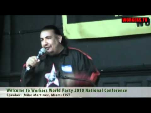 "Workers World Party poem - ""I got my scope on you Tea Party Fascists"""